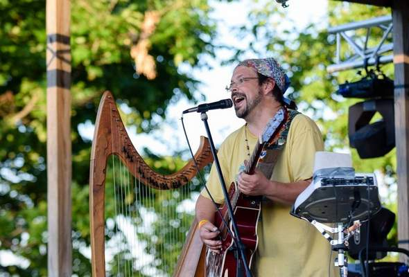 Courtesy Dan Dickerson's music project, The Harp Condition, will perform Saturday during Rock the Plaza.