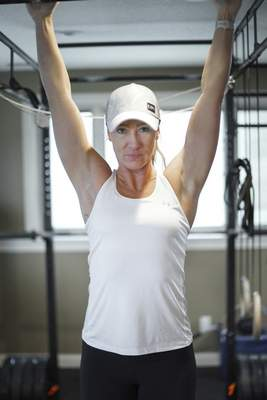 Mike Moore | The Journal Gazette Fitness trainer Dani Rice says many of her clients gained 10 to 12 pounds during the pandemic.