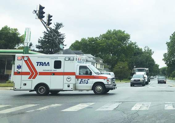 Katie Fyfe   The Journal Gazette The Three Rivers Ambulance Authority contracts with PatientCare EMS Solutions to operate ambulances in Fort Wayne.