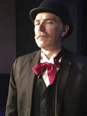 """Courtesy photos Travis Fisher portrays John W. Terrell in Pulse Opera House's """"Of Sound Mind,"""" a miniseries about the Terrell trial."""