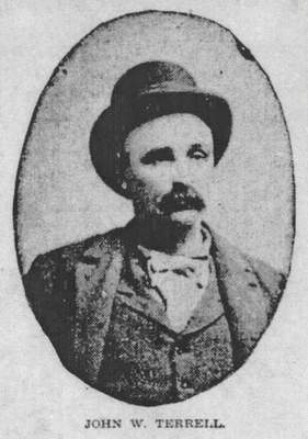 Courtesy An undated photo of John W. Terrell, who was put on trial in 1903 for the murder of Melvin Wolfe.