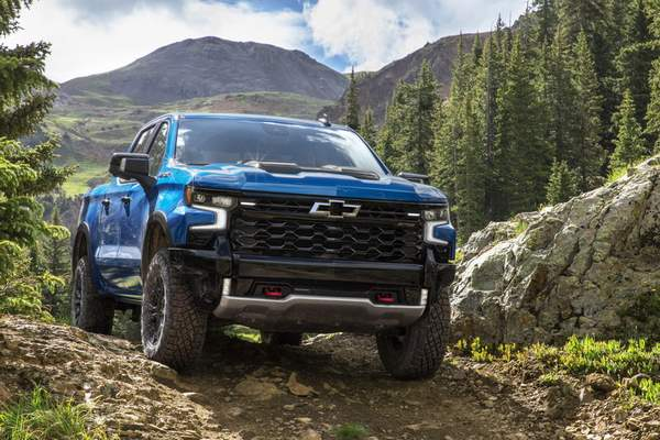 Courtesy of GM General Motors is introducing the  Chevrolet Silverado ZR2 for 2022.
