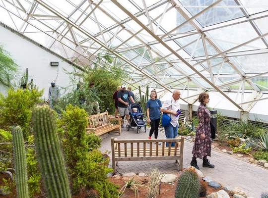 Courtesy Foellinger-Freimann Botanical Conservatory will offer free admission Sunday during Be a Tourist in Your Own Hometown.