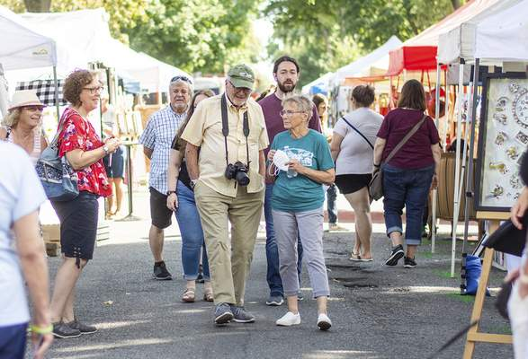Katie Fyfe   The Journal Gazette The 39th Annual West Central Neighborhood Home & Garden Tour and ArtsFest is held on Saturday.