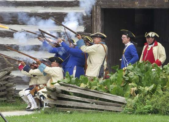 """Courtesy The Old Fort offers visitors a chance to see what life would have been like inside the fort. Tours are available today as part of """"Be a Tourist in Your Own Hometown."""""""