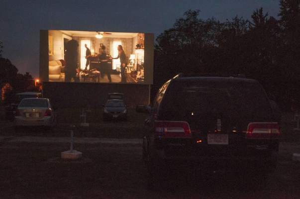 File The Huntington Twin Drive-in Theater is one the few drive-ins remaining in the area. It is open through October, weather permitting.