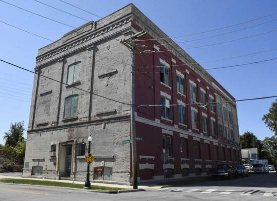 Michelle Davies | The Journal Gazette People have said they often hear loud bangs at the JW Kidd Building, 1510 Fairfield Ave. Proceeds from the ghost hunt will go toward the historical preservation of the building.