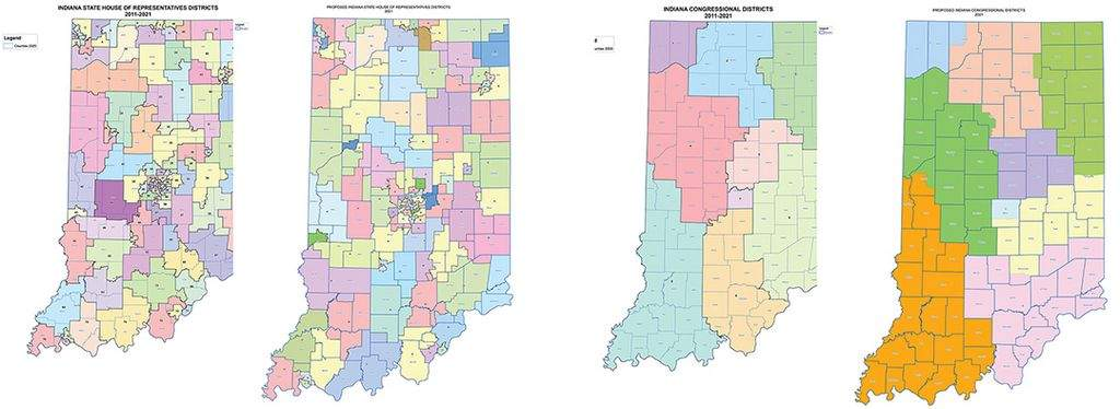 Courtesy Indiana House Republicans  House and Congressional Districts