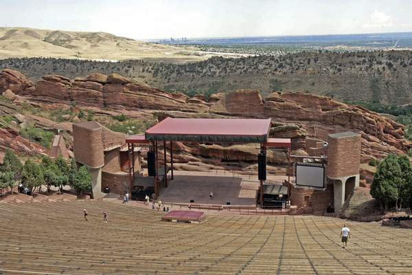 Associated Press Amazon is bringing its palm-recognition technology, Amazon One, to the Red Rocks Amphitheatre in Denver and other venues in the coming months.