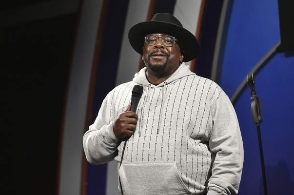 FILE - Cedric the Entertainer performs during Stand Up for Haiti comedy fundraiser in Los Angeles on Aug. 30, 2021. (Photo by Richard Shotwell/Invision/AP, File)