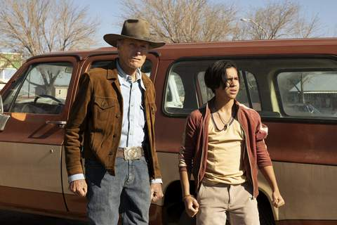 Film Review - Cry Macho Warner Bros. Pictures  Clint Eastwood, left, and Eduardo Minettstar in