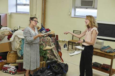 """Courtesy Christa Wilfong, left, and Anna Macke are among stars of """"The Charitable Sisterhood of the Second Trinity Victory Church,"""" which All For One Productions opens tonight at ArtsLab downtown. (Rachel Wilhelm Photography)"""
