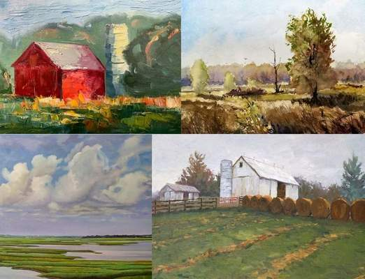 The Art Farm in Spencerville will host a plein air event Saturday. The event features 10 painters and live jazz.