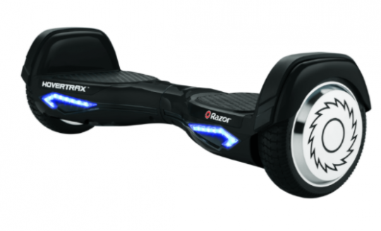 Hovertrax hoverboard containing recalled GLW battery packs.