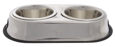 Recalled Top Paw® Double Diner dog bowl.