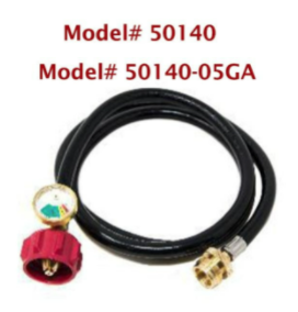 Recalled Gas One adapter hose - Model # 50140.