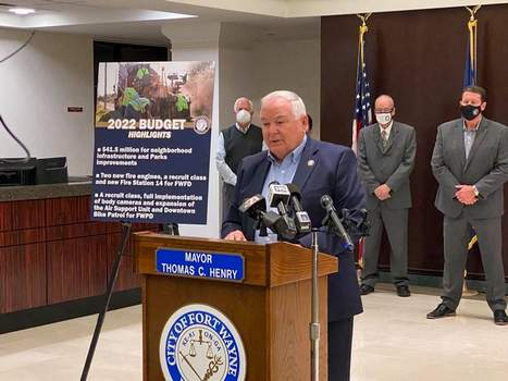 City budget Devan Filchak   The Journal Gazette: City Controller Garry Morr shares details of the proposed 2022 city budget, which includes $38.5 million in neighborhood infrastructure improvements.