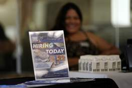 Virus Outbreak Unemployment Benefits Associated Press The number of people who applied for unemployment aid went up last week to 351,000 in a sign that the delta variant may be disrupting the job market recovery. (Marcio Jose SanchezSTF)