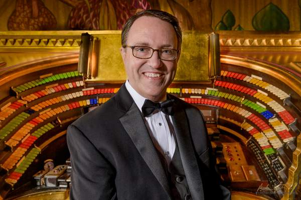 Courtesy Organist Ken Double will play Saturday at Embassy Theatre.