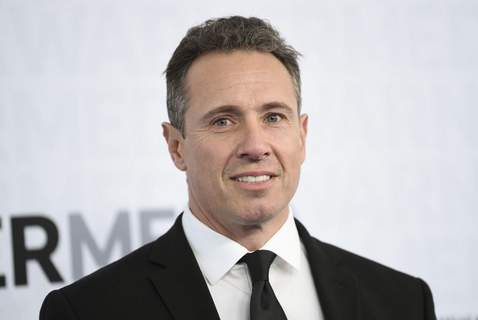 This May 15, 2019 file photo shows CNN news anchor Chris Cuomo at the WarnerMedia Upfront in New York. (Photo by Evan Agostini/Invision/AP, File)