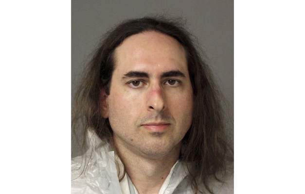 FILE - This June 28, 2018, file photo provided by the Anne Arundel Police shows Jarrod Ramos in Annapolis, Md. Ramos, who killed five people at a Maryland newspaper more than three years earlier, is scheduled to be sentenced on Tuesday, Sept. 28, 2021, for one of the deadliest attacks on journalists in U.S. history. (Anne Arundel Police via AP, File)