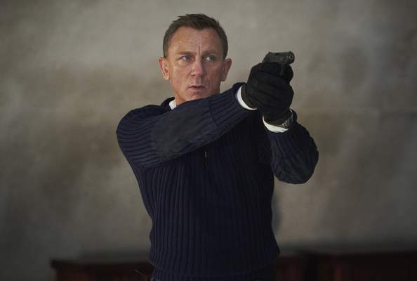 """Metro Goldwyn Mayer Pictures Daniel Craigstars in """"No Time To Die,"""" his final outing as James Bond."""