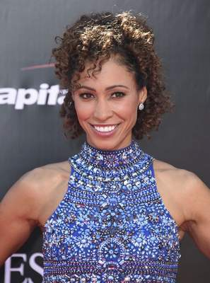 In this Wednesday, July 13, 2016, file photo, Sage Steele arrives at the ESPY Awards at the Microsoft Theater in Los Angeles. (Photo by Jordan Strauss/Invision/AP, File)