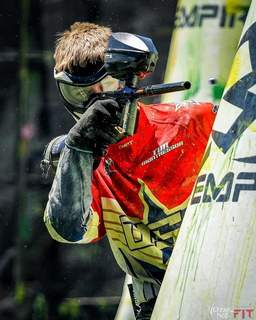 Courtesy Carroll High School junior Ben Sloffer competes nationally in paintball tournaments. He was a member of the U-16 U.S. paintball team that was supposed to compete in the world championship but didn't because of COVID-19.