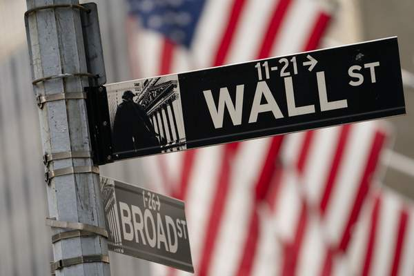 The New York Stock Exchange operates during normal business hours in the Financial District, Wednesday, Oct. 13, 2021, in the Manhattan borough of New York. (AP Photo/John Minchillo)