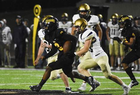 Katie Fyfe | The Journal Gazette Junior Kamari Juarez helped Snider defeat Bishop Dwenger last week. The Panthers play Bishop Luers tonight with a chance to win the SAC.