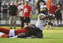 Photos by Katie Fyfe | The Journal Gazette Running back Tyrese Brown has helped Snider recover from an early-season loss to the point where the Panthers could win the SAC title.