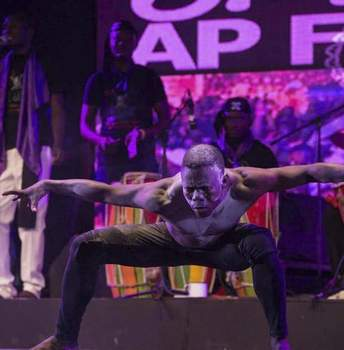 """Courtesy Gerald Joanis is among performers from Haiti joining Fort Wayne Dance Collective for """"Vodou Unveiled."""""""