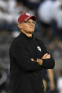 Indiana Penn St Football Associated Press Coach Tom Allen used Indiana's bye week to do a three-phase analysis of the 2-3 Hoosiers. (Barry ReegerFRE)