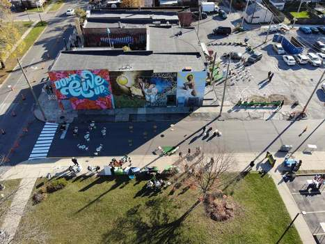 Courtesy Wunderkammer Company's headquarters at 3402 Fairfield Ave. will be the site Friday for a news conference launching a local plan to support entrepreneurs. Networking and a night market will be held along the corridor.