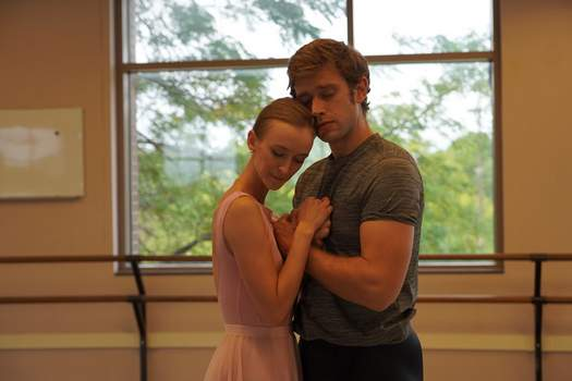 """Courtesy Amanda Eve Carrick and Thomas Caleb Roberts rehearse for """"Giselle,"""" which Fort Wayne Ballet will perform today and Saturday."""