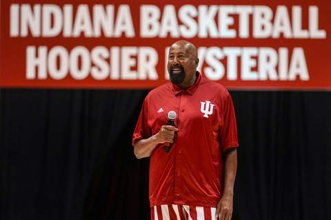 Indiana Basketball Associated Press Indiana head coach Mike Woodson  has picked up Jakai Newton, a four-star recruit from Georgia, the Hoosiers' first commitment for the class of 2023. (AJ MastFRE)