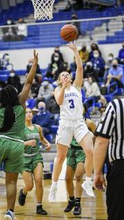 Mike Moore | The Journal Gazette Saint Francis is hoping for big things from freshman guard Emily Parrett from Carroll.
