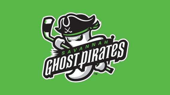 Courtesy  The logo of the new Savannah Ghost Pirates.