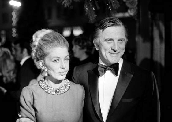 David F Smith, File | Associated PressFILE - This Dec. 19, 1969 file photo shows actor Kirk Douglas and his wife, Anne, attending the premiere of