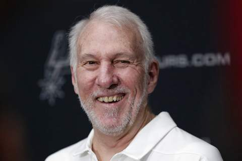 Eric Gay, File | Associated PressFILE - In this Sept. 30, 2019, file photo, San Antonio Spurs head coach Gregg Popovich talks with the media during NBA basketball media day in San Antonio. Freshmen at the United States Air Force Academy are called doolies, and the experience for those first-year cadets can be extremely difficult. Popovich, class of 1970, hasn't forgotten those days. And for the San Antonio coach, a couple days of lockdown at Walt Disney World brought back the memories of doolie life.
