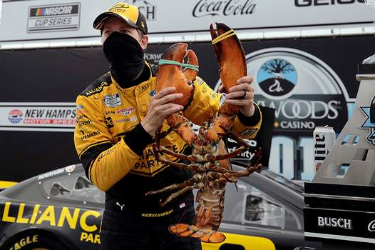 Associated Press  Brad Keselowski, who was awarded a lobster for winning last weekend in New Hampshire, is looking for his first Michigan win.