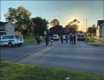 File Police investigate a double-fatal shooting at South Hanna and East Leith streets in September 2020.